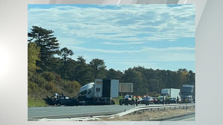Cover for State Police: Driver dead after head-on crash with truck on I-90 in Albany
