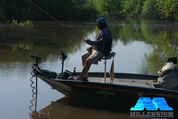 Picture for Catching Fish in High Water on the Ouachita River