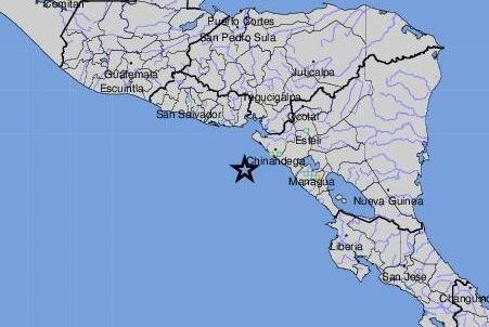 Picture for 6.5-magnitude earthquake strikes in northwest Nicaragua