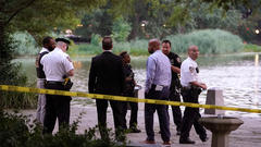Cover for Dead body found floating in Central Park's Harlem Meer