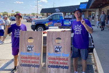 Picture for Hubcaps Win National Beef Cornhole Tournament