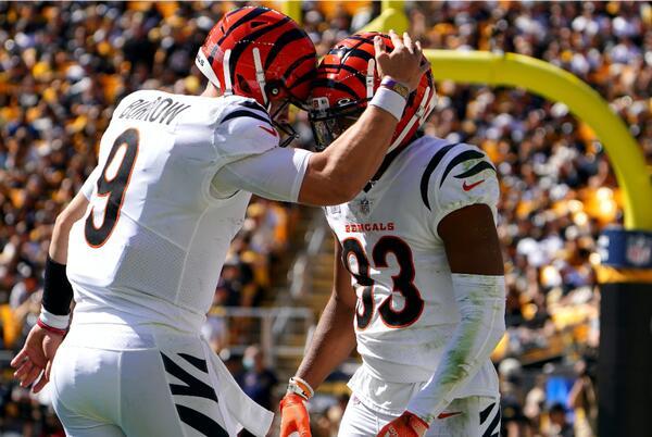 Picture for Steelers vs. Bengals score, takeaways: Cincinnati roars past Pittsburgh behind Joe Burrow's three TD passes