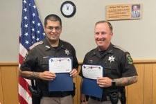 Picture for Three Warren County Deputies recognized for on duty performance