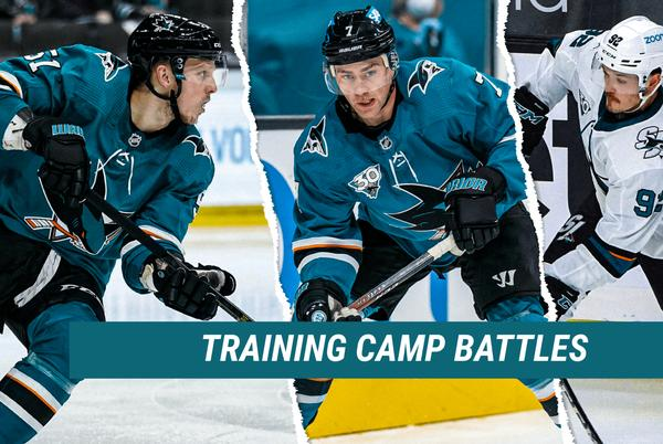 Picture for Sharks Camp Battles to Watch