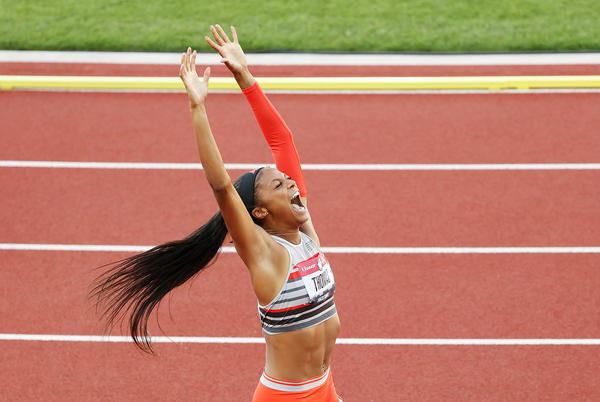 Picture for Gabby Thomas Says Getting Accepted Into Harvard Was Easier Than Qualifying for the Tokyo Olympics
