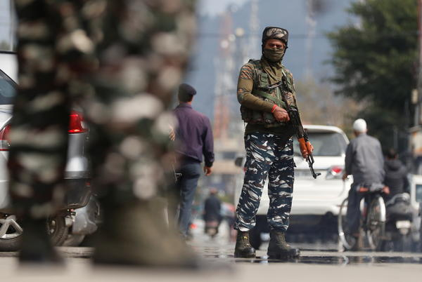 Picture for India to move some migrant workers in Kashmir to army camps after killings