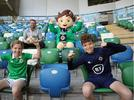 Picture for Ian Baraclough makes surprise appearance during Irish FA tour