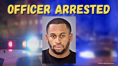 Cover for Indiana Police Officer Arrested for Domestic Violence in front of Kids