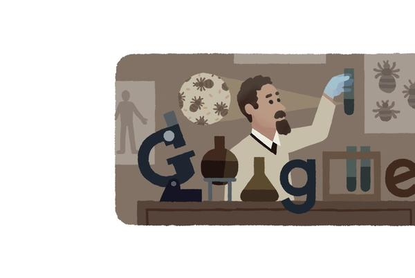 Picture for Google Doodle honors Rudolf Weigl, typhus vaccine inventor