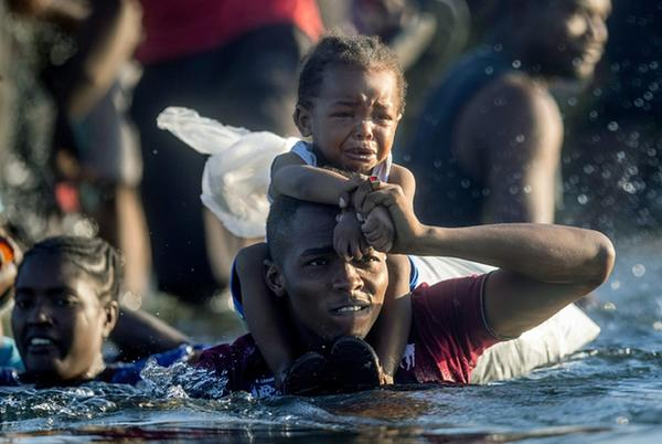 Picture for Photos From The Texas Border Show The Desperation Of Thousands Of Haitians At A Makeshift Camp