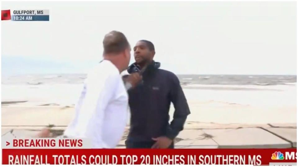 Police Issue Arrest Warrant for Man Who Accosted NBC News Correspondent Shaquille Brewster During Live Hurricane Ida Coverage