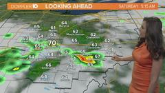Cover for Severe storms with strong winds to move through central Ohio Friday night, early Saturday