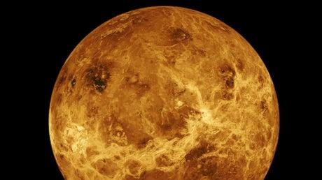 Picture for Venus is more 'Earth-like' than scientists ever thought after groundbreaking discovery of tectonic action
