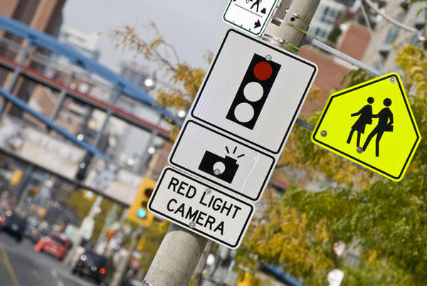 Picture for Someone Is Sneaking Around Chicago And Stealing Red Light Cameras