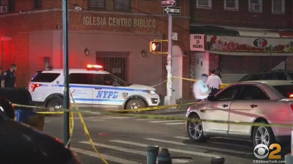 Picture for NYPD: 2 Gunman Wanted After 10 Shot In Front Of Queens Business; 'A Brazen, Coordinated Attack'