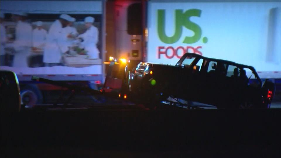 Picture for Tow Truck Driver Hit, Killed On I-25 SB Near Castle Pines Parkway