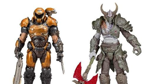 Doom Eternal Marauder And Doom Slayer Phobos Armor Mcfarlane Toys
