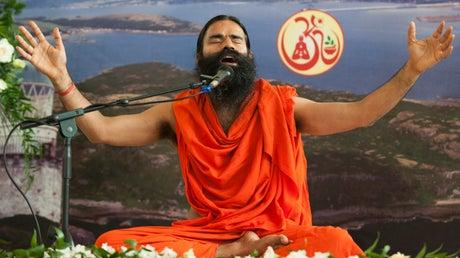 Picture for Ramdev: India's most famous yoga guru to take Covid vaccine after berating doctors and modern medicine