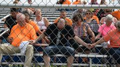Cover for 'We're going to bring him home,' supporters pledge at vigil for missing Iowa boy Xavior Harrelson