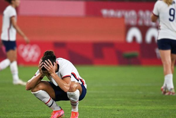 Picture for U.S. women's national soccer team loses to Canada in Tokyo Olympics semifinal