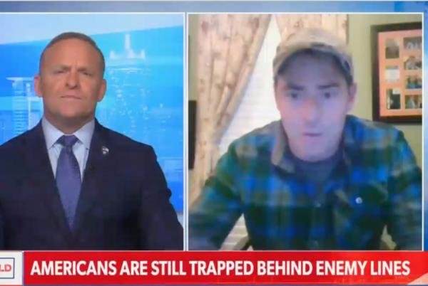 Picture for Newsmax host angrily cuts off guest who mildly criticizes Trump