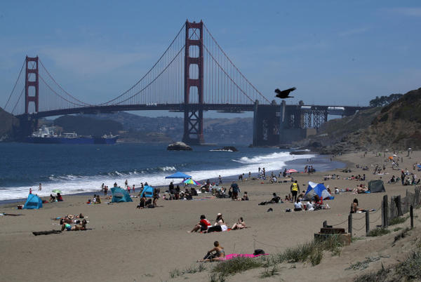 Picture for Beach Hazard Statement issued for Bay Area: What that means