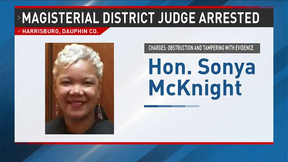 Harrisburg judge arrested for obstruction and tampering with evidence