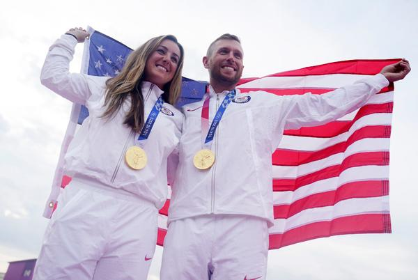 Picture for Live updates from Tokyo Olympics: US sweeps gold in skeet shooting; gymnastics gold for Russian men
