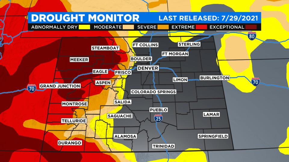 Picture for Colorado Drought Situation Improves For The First Time In Months