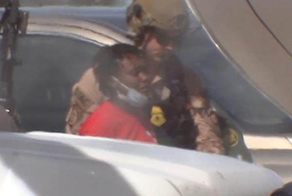 Picture for ABC13 Exclusive: Migrants in Del Rio shuffle onto evacuating US aircraft