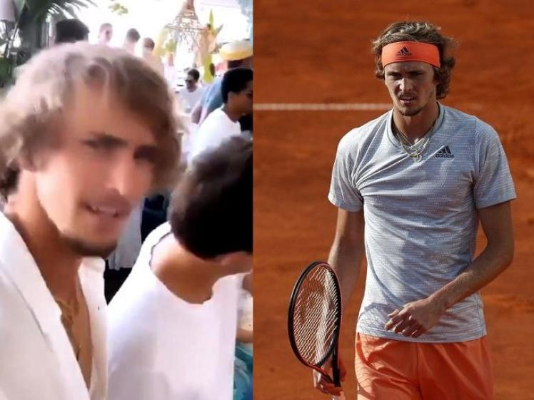Sascha Zverev Doesn T Respect Self Isolation And Celebrates With His Girlfriend News Break