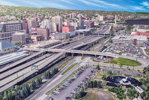 Picture for Duluth group pitches I-35 removal