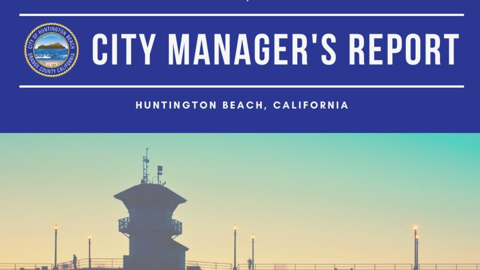 Picture for City Manager's Report - June 11, 2021