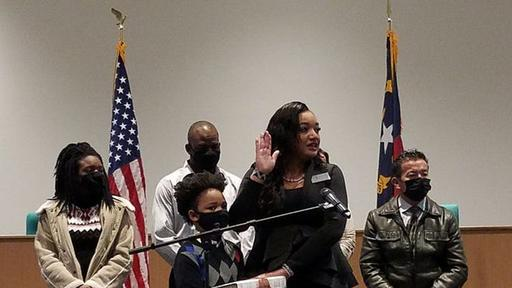 Three newly elected Onslow County Board of Education sworn into