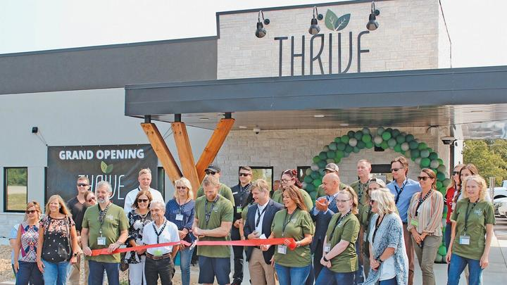 Cover for Thrive dispensary opens in Branson West