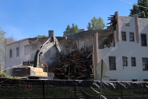 Picture for Housing crisis: Demolition begins on depression-era apartments in Boise
