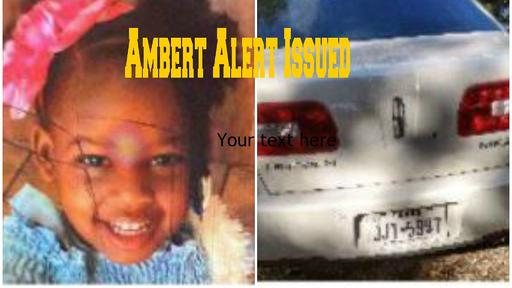 Amber Alert From Dallas Area Could Be In East Texas News Break