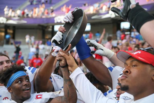 Picture for TCU Football vs SMU: Battle (100) for the Iron Skillet