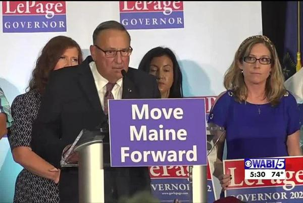 Picture for LePage calls for elimination of Maine income tax during campaign launch