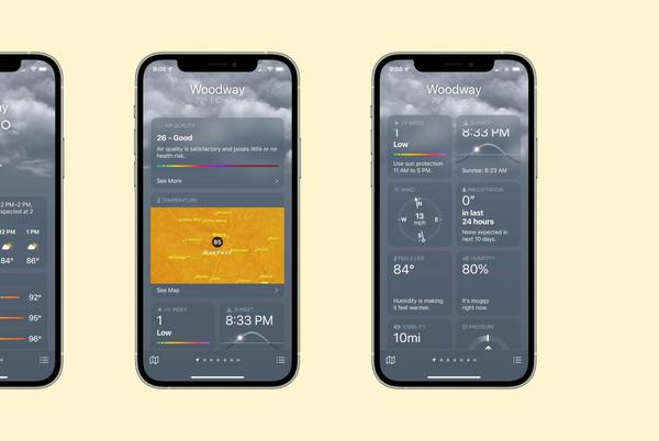 Picture for Hands-on: iOS 15 brings an all-new Weather app with maps, animations, and more