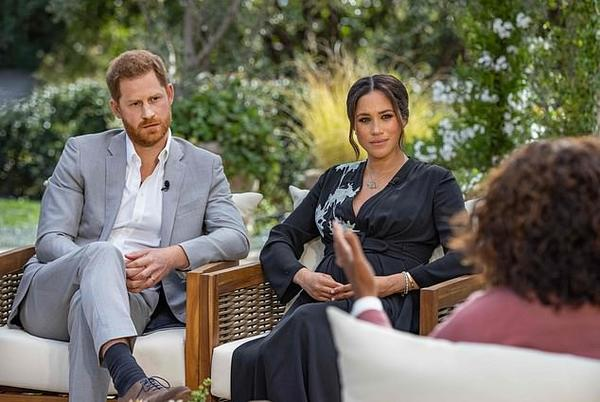 Picture for 'I was trapped until I met Meg, I just didn't know it': Harry says he feels sorry for William and Charles who can never escape and reveals his father stopped taking his calls during Megxit