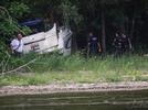 Picture for 1 dead after boat crashes into tree, catches on fire in Holiday Hills