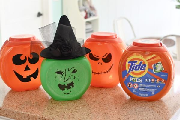 Picture for Recycle Empty Laundry Detergent Containers into DIY Halloween Decorations!
