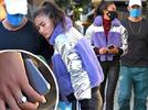 Picture for Kelly Gale shows off her diamond engagement ring in Los Angeles