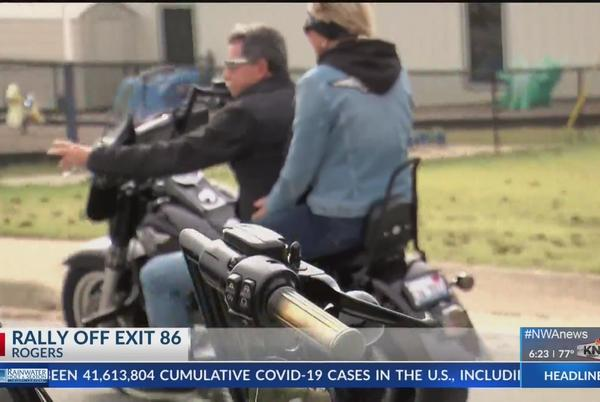 Picture for Rally Off Exit 86 brings in bikers from across the country