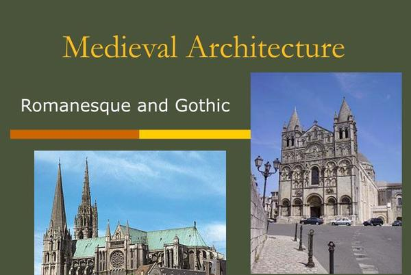 Picture for Medieval Architecture