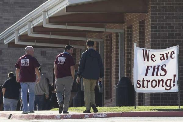 Picture for Floresville High School students rally against district over assault allegations