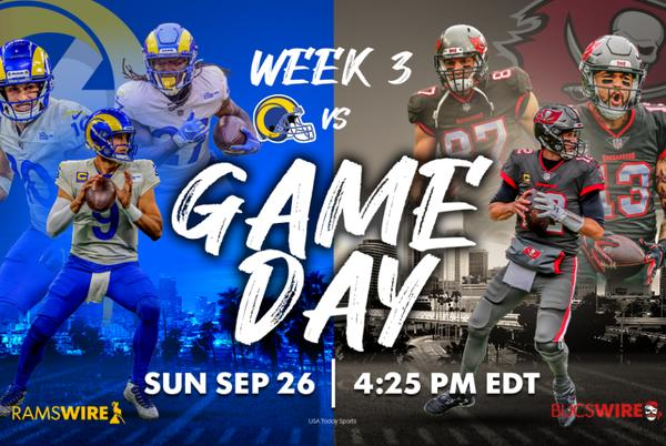 Picture for Bucs vs. Rams, NFL Week 3: How to watch, listen and stream online