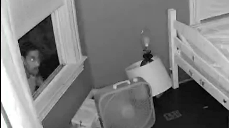 Picture for Video captures intruder entering little girls' bedroom
