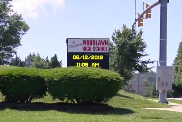Picture for 'It's Very Inappropriate': Cell Phone Video Captures Sex Act In Woodlawn High School Class